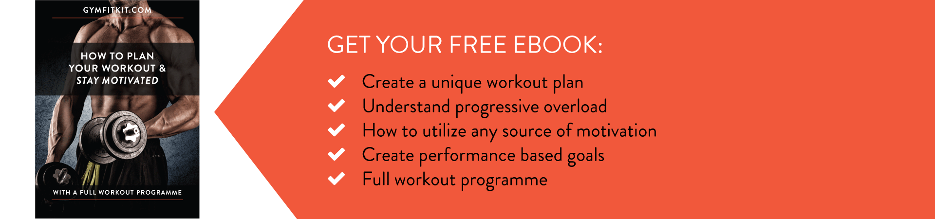 How to plan your workout ebook